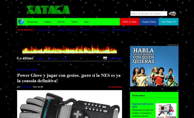 Imagen de Xataka en los 90