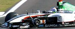 Gianmaria Bruni pierde una rueda