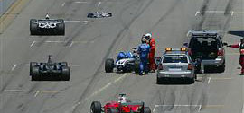 accidente ralph schumacher