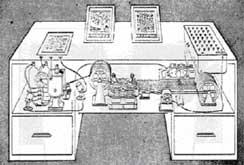 Máquina misteriosa del siglo pasado